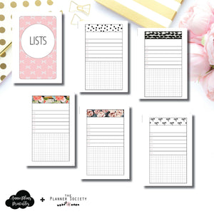 Pocket Rings Size | Limited Edition TPS Bow Bundle Collaboration Printable Inserts ©