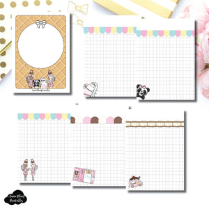Passport TN Size | Sundae Notes Collaboration Printable Insert ©