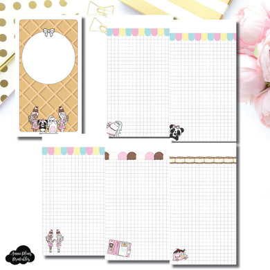 Personal TN Size | Sundae Notes Collaboration Printable Insert ©