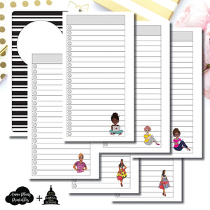 Personal Rings Size | Capital Chic Designs Collaboration LIST Printable Insert ©