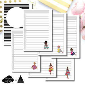 Personal Wide Rings Size | Capital Chic Designs Collaboration LIST Printable Insert ©
