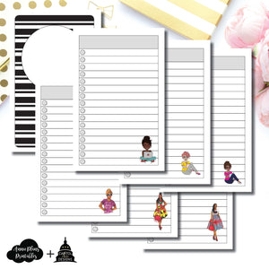 Pocket TN Size | Capital Chic Designs Collaboration LIST Printable Insert ©