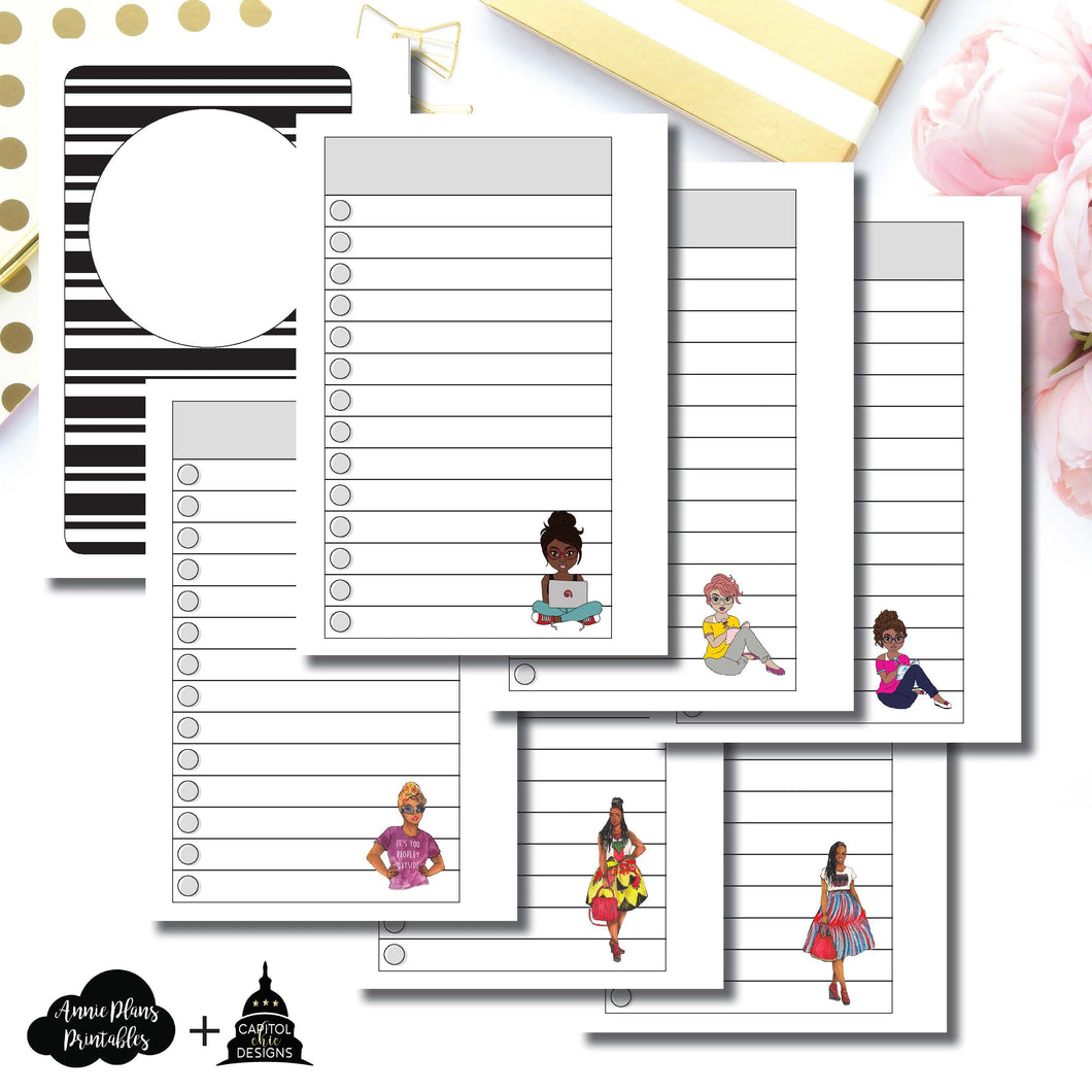 Pocket Rings Size | Capital Chic Designs Collaboration LIST Printable Insert ©