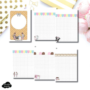 Pocket Rings Size | Sundae Notes Collaboration Printable Insert ©