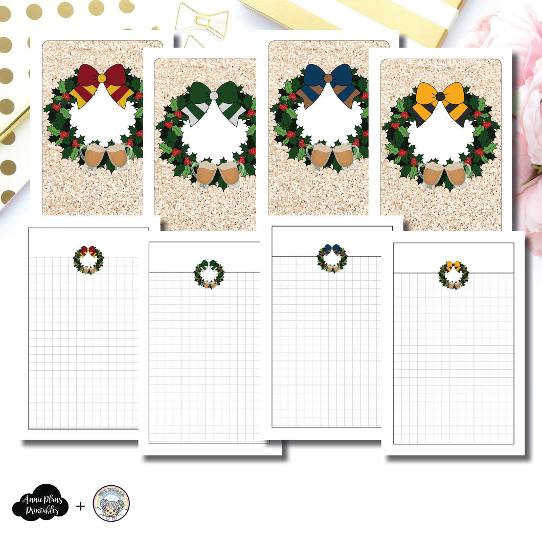 Pocket TN Size | LIMITED EDITION: Cheer & Butterbeer Grid Printable Insert ©