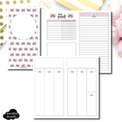Standard TN Size | Undated Week on 2 Weeks Shell's Scribbles Collaboration Printable Insert ©