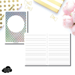 A6 TN Size | Hand Lettering/Calligraphy Practice Sheet Printable Insert ©
