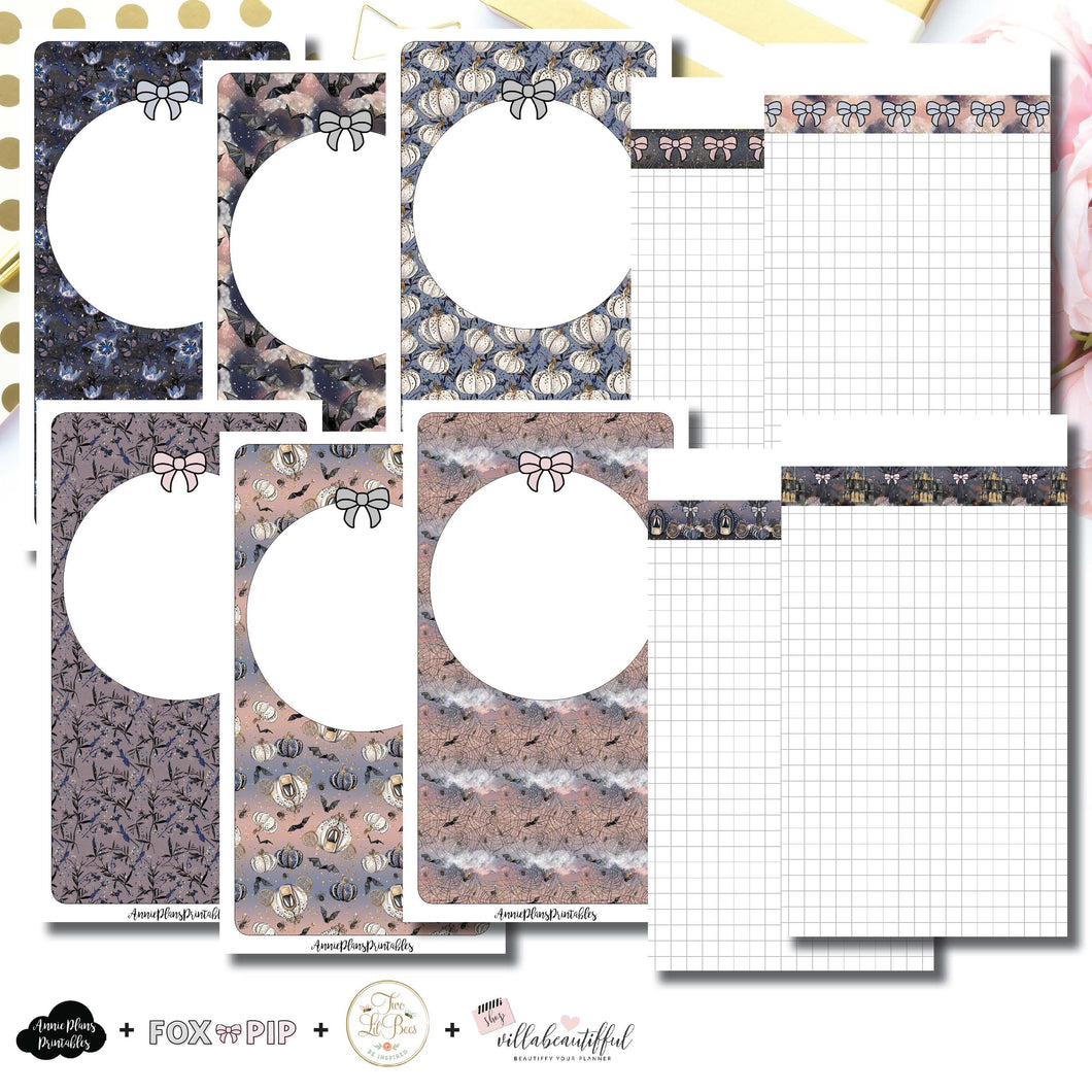 Personal TN Size | Blank Covers + Undated Grid Collaboration Printable Insert ©