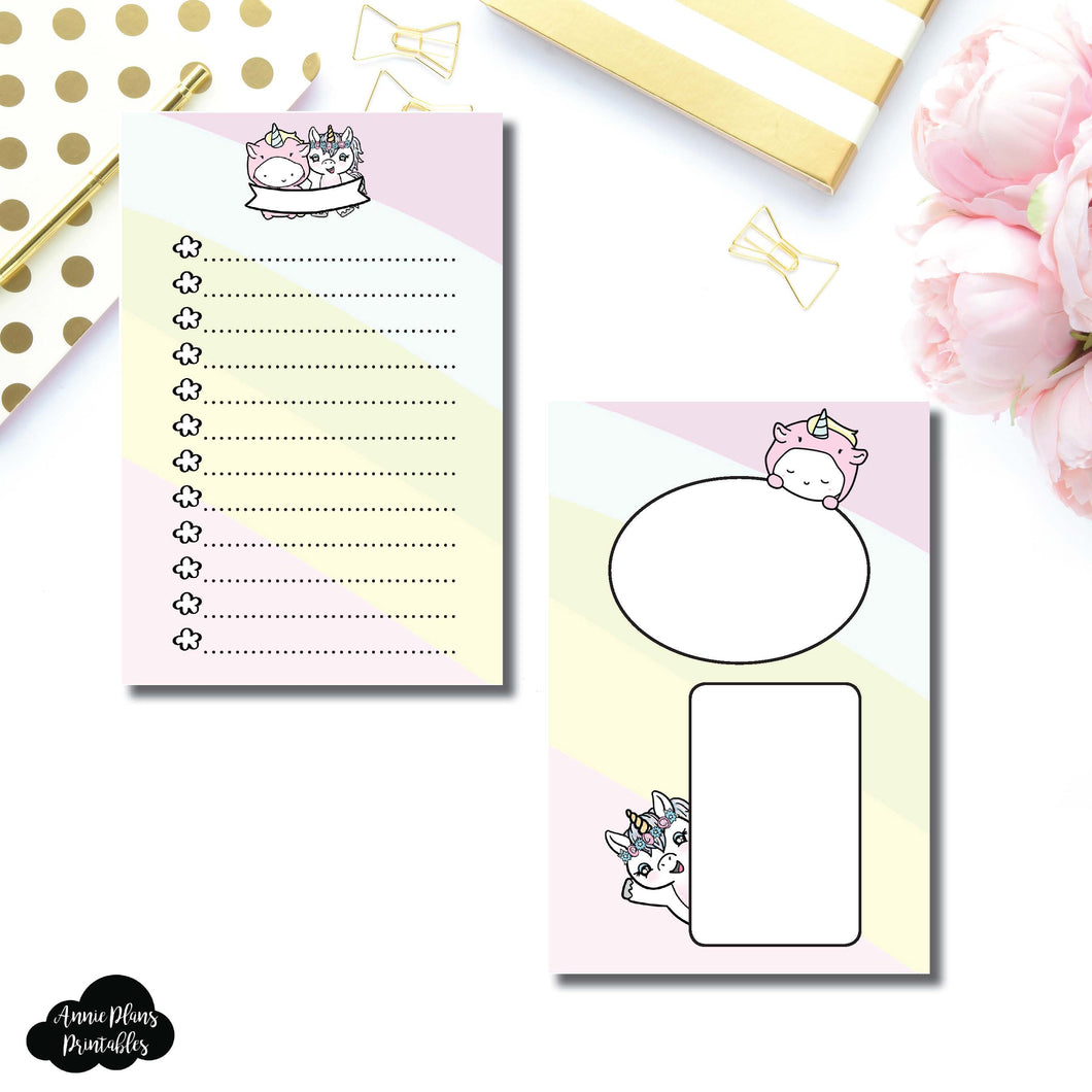 A6 Rings Size | Printable List Collaboration ©