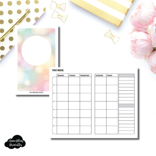Pocket TN Size | Lesson Planner Printable Insert ©