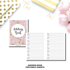 PASSPORT TN SIZE | Address Book Printable Insert ©