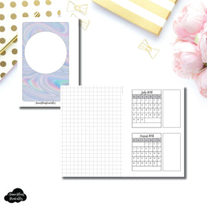 Pocket Rings Size | 18 Month (July 2018 - December 2019) Forward Planning Printable Insert ©