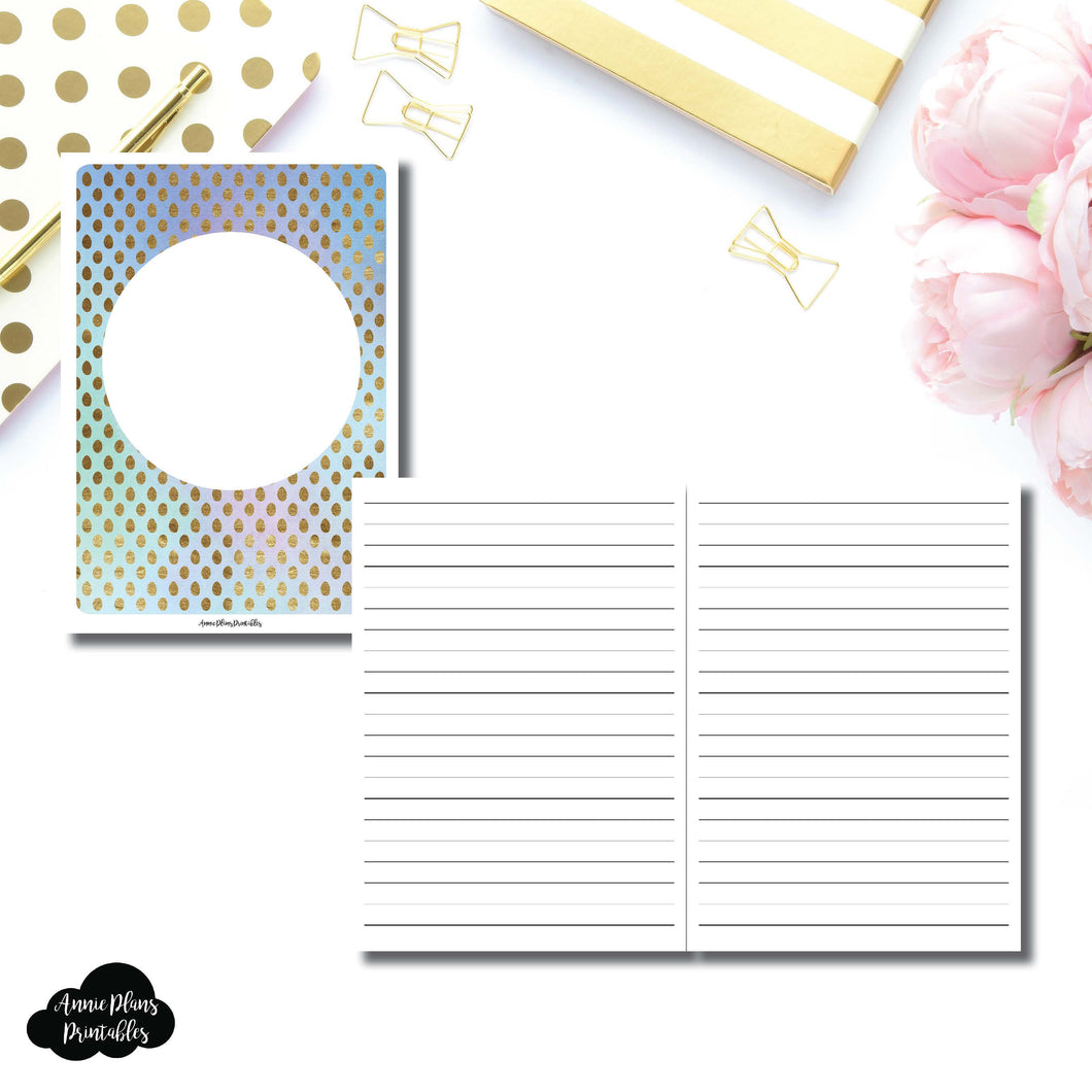 B6 TN Size | Hand Lettering/Calligraphy Practice Sheet Printable Insert ©