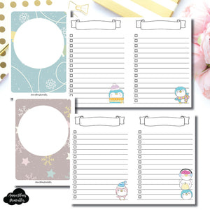 PASSPORT TN SIZE | Happie Scrappie Collaboration Lists Printable Insert ©