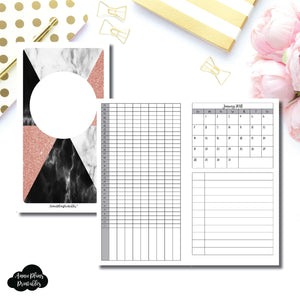 Personal TN Size | 2018 Dated Tracker Printable Insert ©