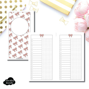 Personal Rings Size | Fox & Pip Collaboration: List + Grid Column Printable Insert ©