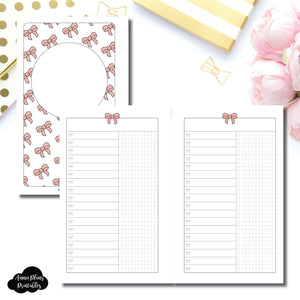 FC Rings Size | Fox & Pip Collaboration: List + Grid Column Printable Insert ©