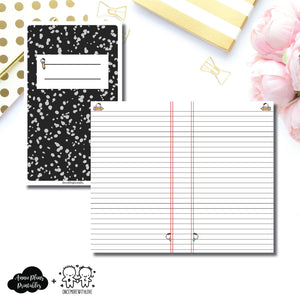 Cahier TN Size | Back to School OnceMoreWithLove Collaboration Printable Insert ©