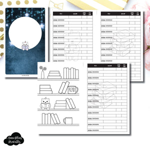 picture about Book Log Printable identified as 50 % Letter Rings Sizing SpotDrop Collaboration Looking through Ebook Log Printable Include ©