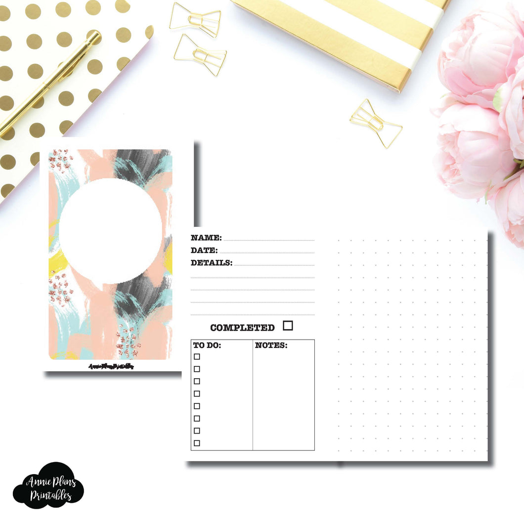 Pocket Rings Size | Event/Project Planning Printable Insert ©