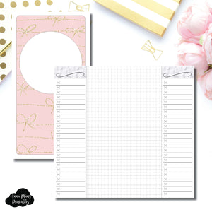 Standard TN Size | List + Grid Collaboration Printable Insert