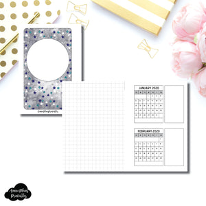 Pocket Rings Size | 18 Month (JAN 2020 - JUN 2021) Forward Planning Printable Insert ©