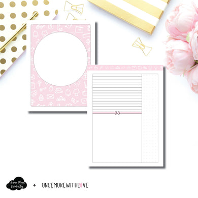 Classic HP Size | OnceMoreWithLove Anniversary Collaboration Printable Insert ©