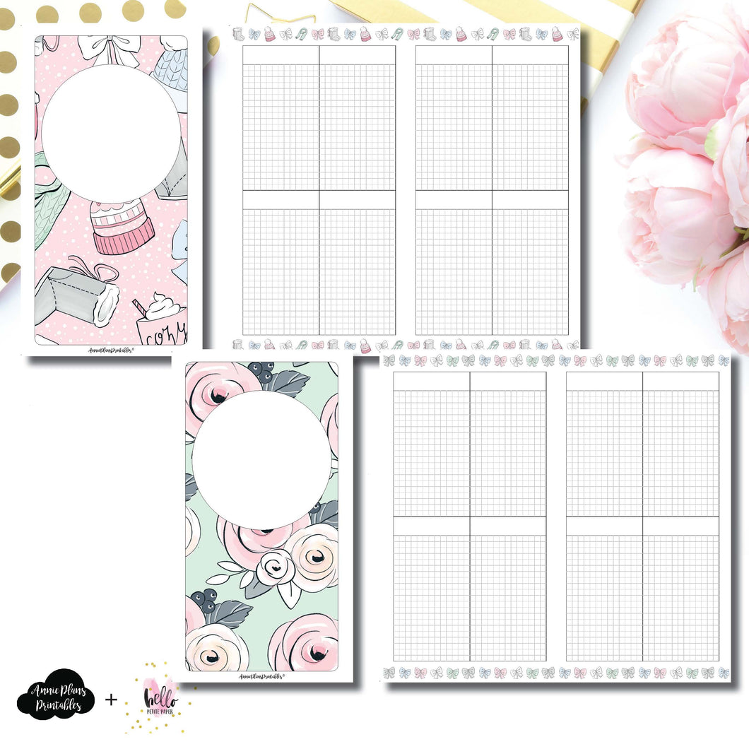 Standard TN Size | Limited Edition HelloPetitePaper Collaboration Printable Inserts ©