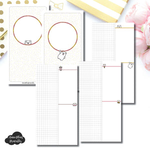 Standard TN Size | Grin & Bear It Collaboration Grid Column Printable Insert ©