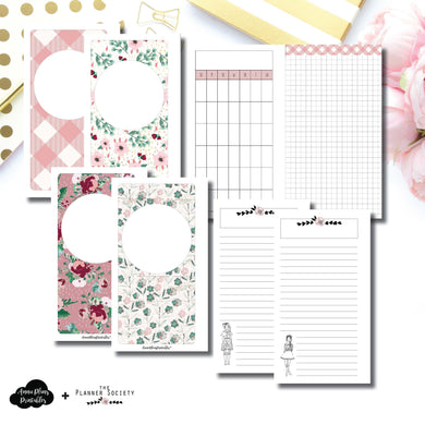 Personal Rings Size | Limited Edition TPS November Collaboration Bundle Printable Inserts ©