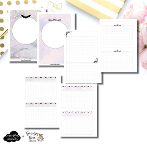 A6 Rings Size | Grumpy Bear Moon Child Collaboration Printable Insert ©