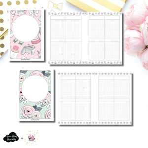 Personal Wide Rings Size | Limited Edition HelloPetitePaper Collaboration Printable Inserts ©