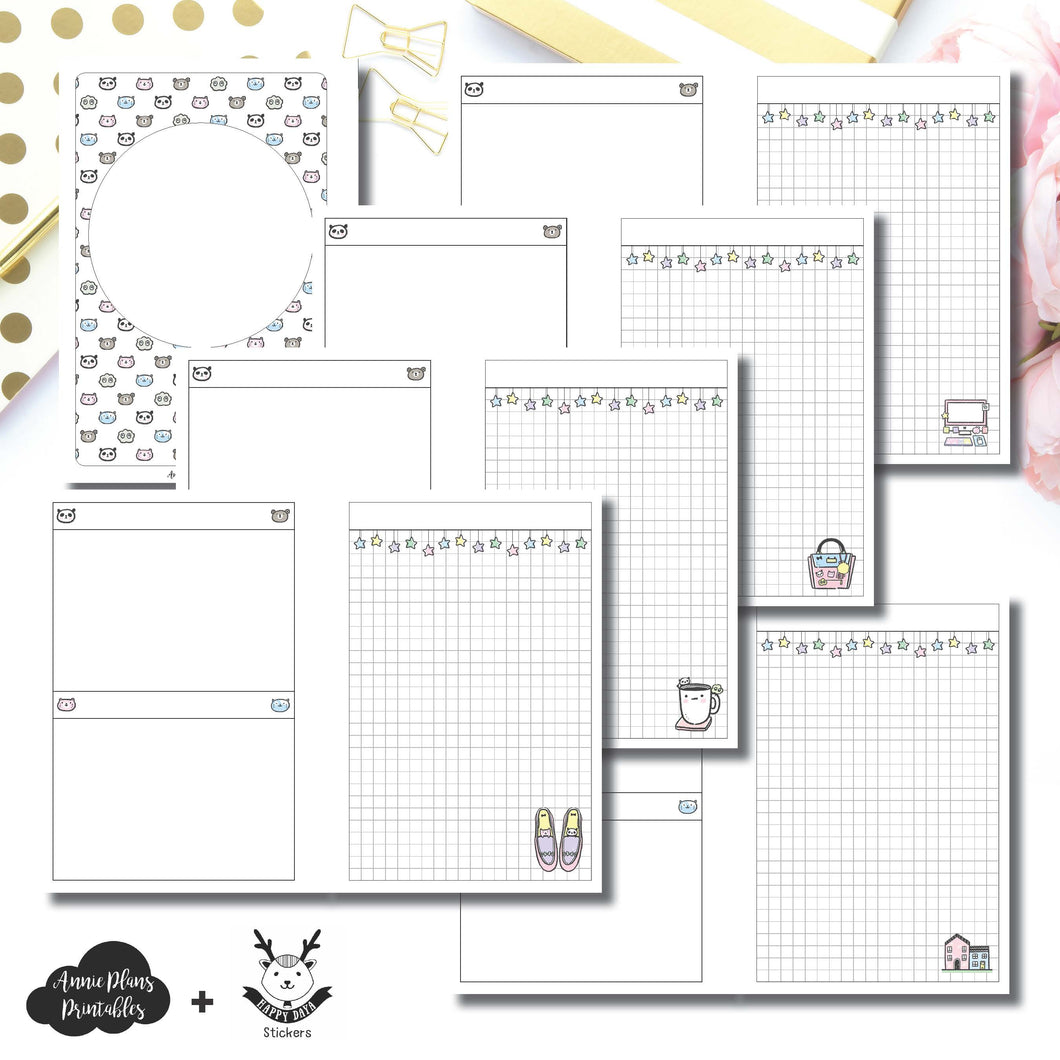 Personal Wide Rings Size | HappyDaya Collaboration Printable Insert ©
