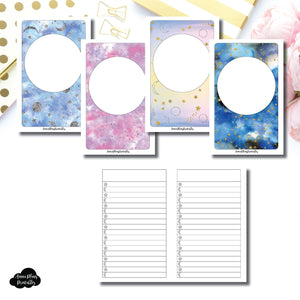 Pocket TN SIZE | Blank Covers + Celestial Lists Printable Insert ©