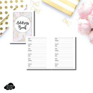 Micro HP SIZED | ADDRESS BOOK Printable Insert ©