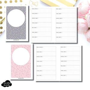 Mini HP Size | OCT 2019 - DEC 2020 Week on 1 Page Layout (Monday Start) Printable Insert ©