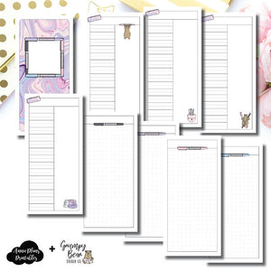 HWeeks Wide Size | Grumpy Bear 2.0 Collaboration Printable Insert ©