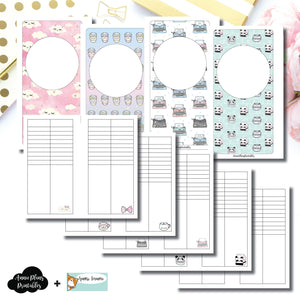 Personal Rings Size | HappieScrappie Lists/Weekly Collaboration Printable Insert ©