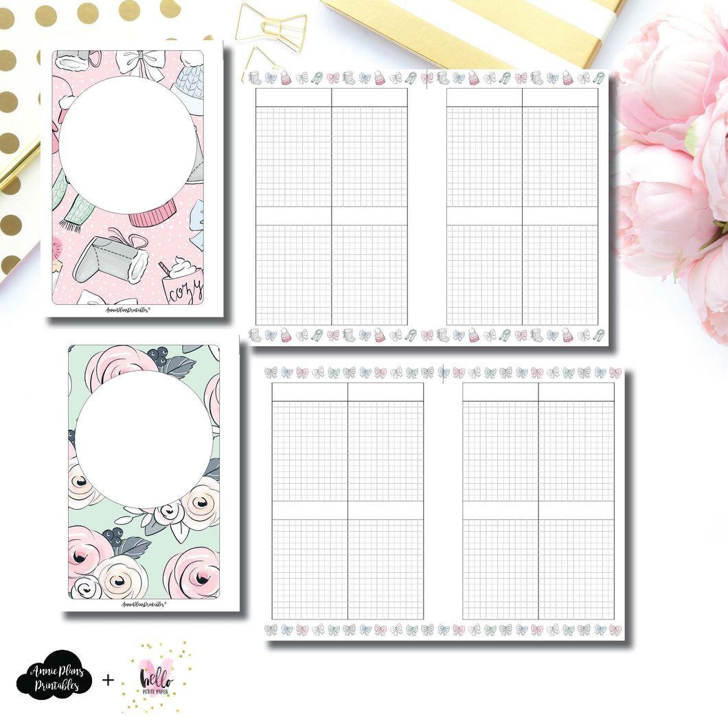 Mini HP Size | Limited Edition HelloPetitePaper Collaboration Printable Inserts ©