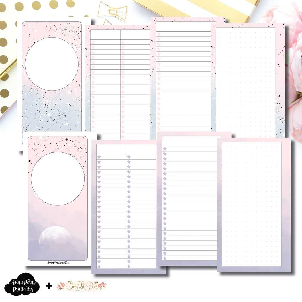Personal Rings Size | Lists & Notes TwoLilBees Collaboration Bundle Printable Inserts ©