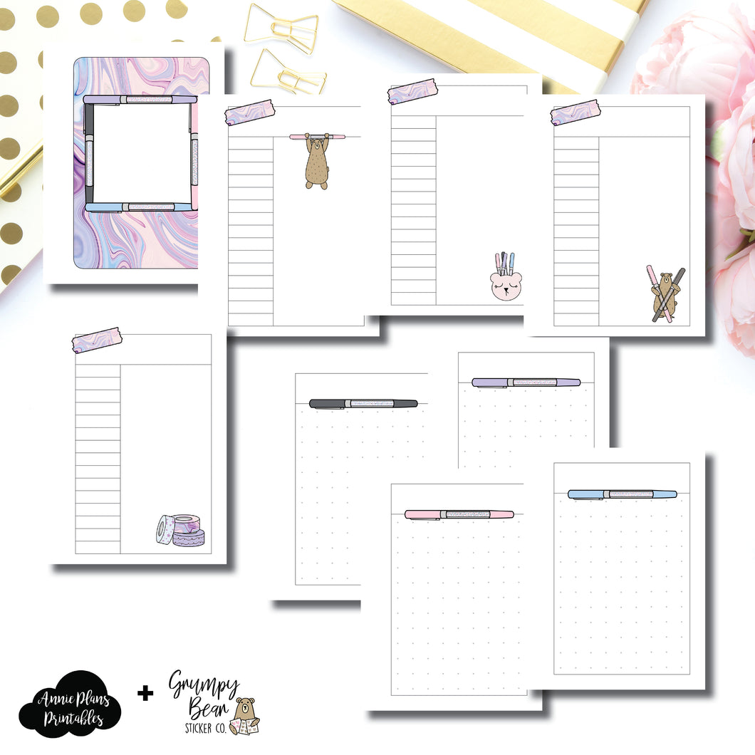 Micro HP Size | Grumpy Bear 2.0 Collaboration Printable Insert ©