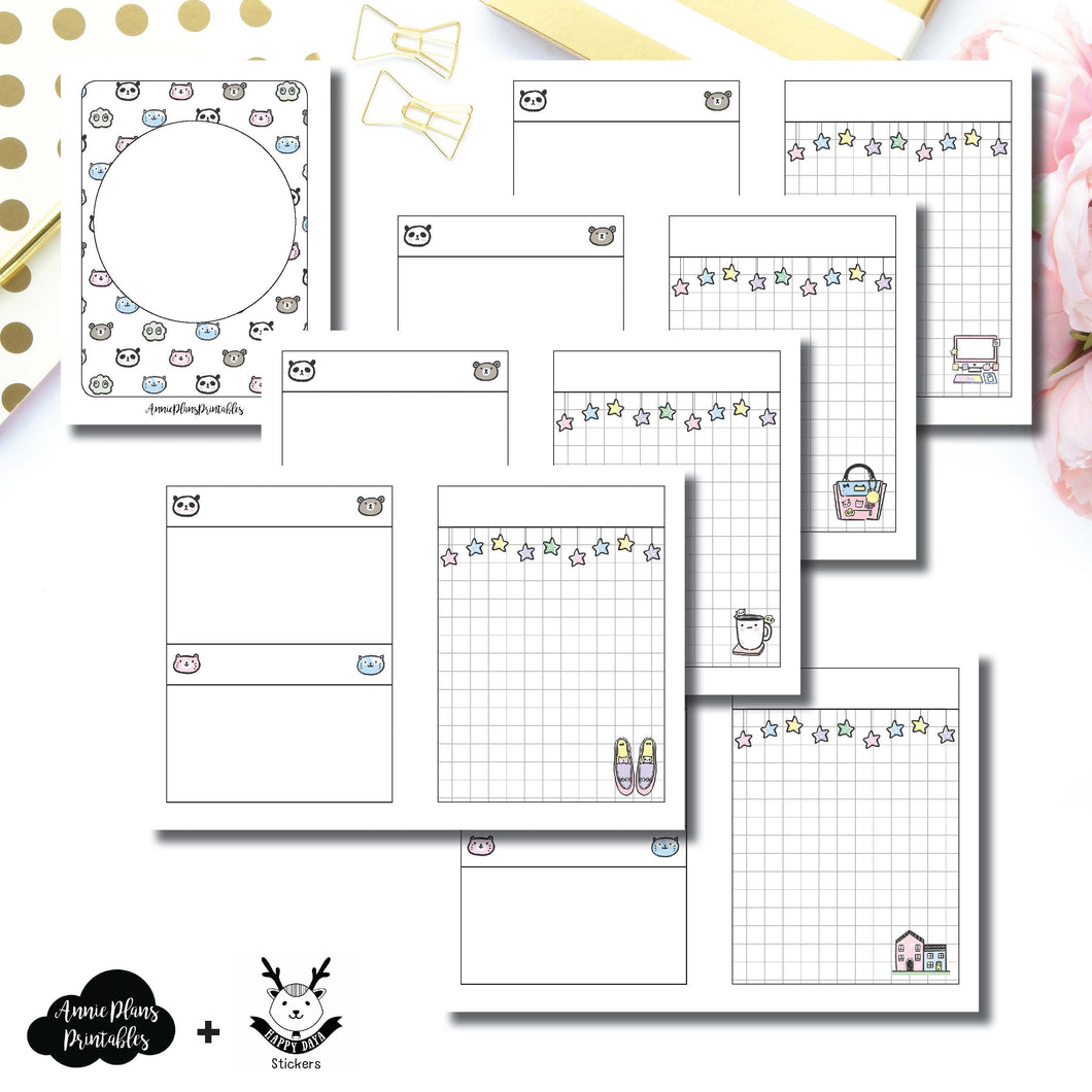 Micro TN Size | HappyDaya Collaboration Printable Insert ©