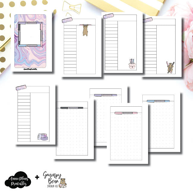 Pocket Rings Size | Grumpy Bear 2.0 Collaboration Printable Insert ©