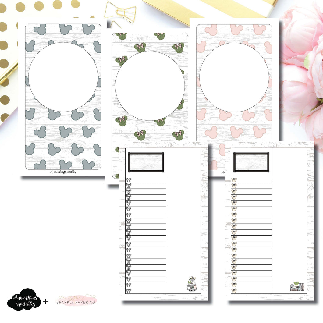 Personal TN Size | Farmhouse Magic Daily Lists Printable Insert ©