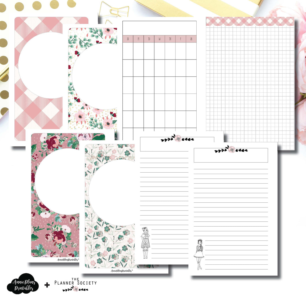 Mini HP Size | Limited Edition TPS November Collaboration Bundle Printable Inserts ©