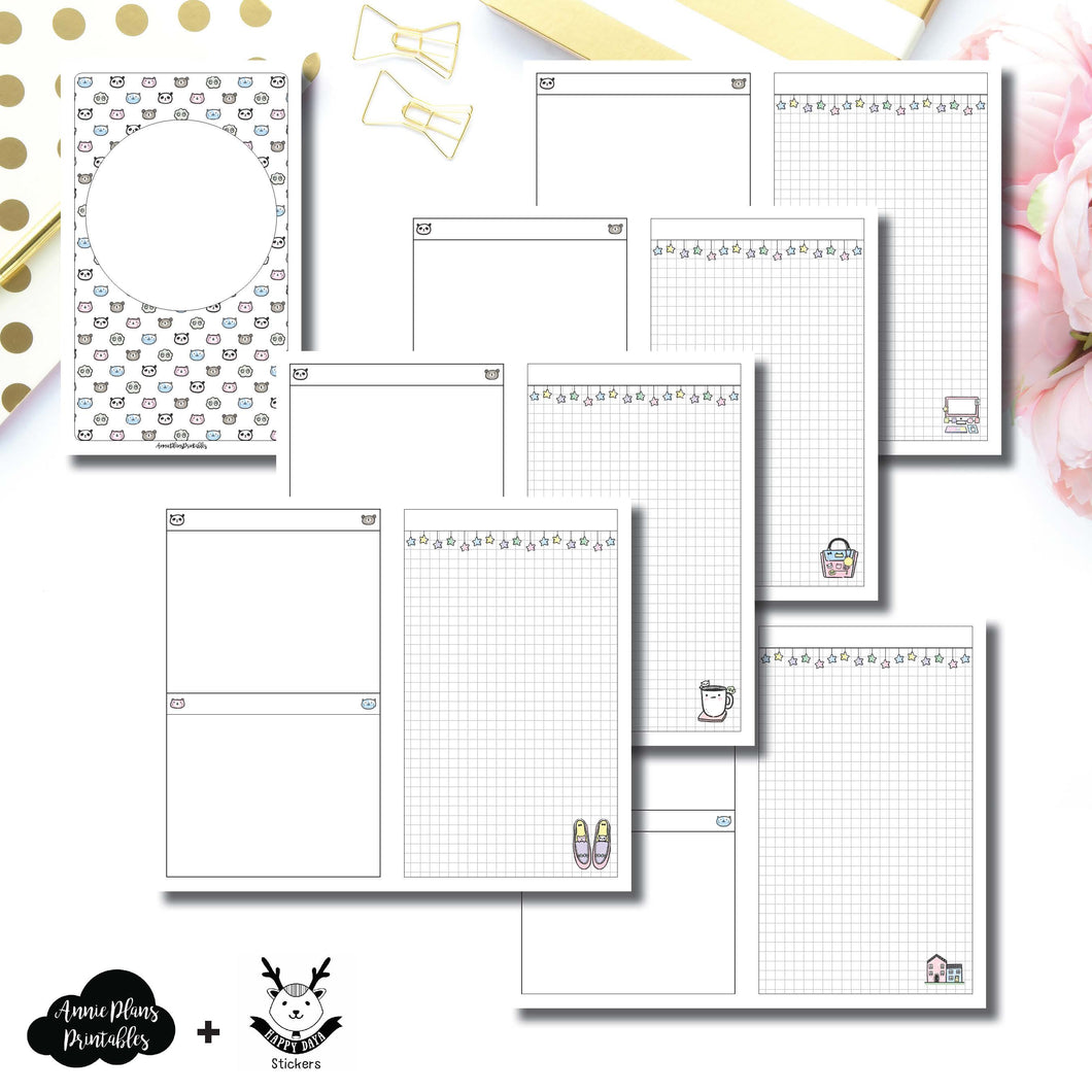 Cahier TN Size | HappyDaya Collaboration Printable Insert ©