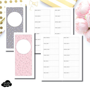Half Page HP Size | OCT 2019 - DEC 2020 Week on 1 Page Layout (Monday Start) Printable Insert ©
