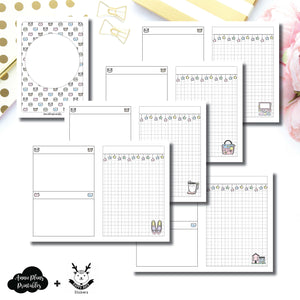 A6 TN Size | HappyDaya Collaboration Printable Insert ©