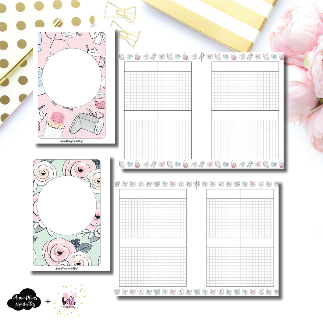A6 Rings Size | Limited Edition HelloPetitePaper Collaboration Printable Inserts ©