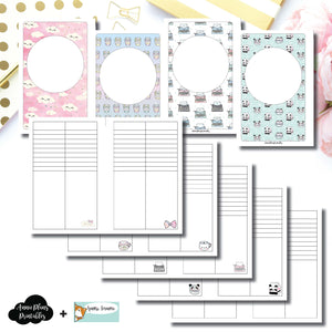 Mini HP Size | HappieScrappie Lists/Weekly Collaboration Printable Insert ©